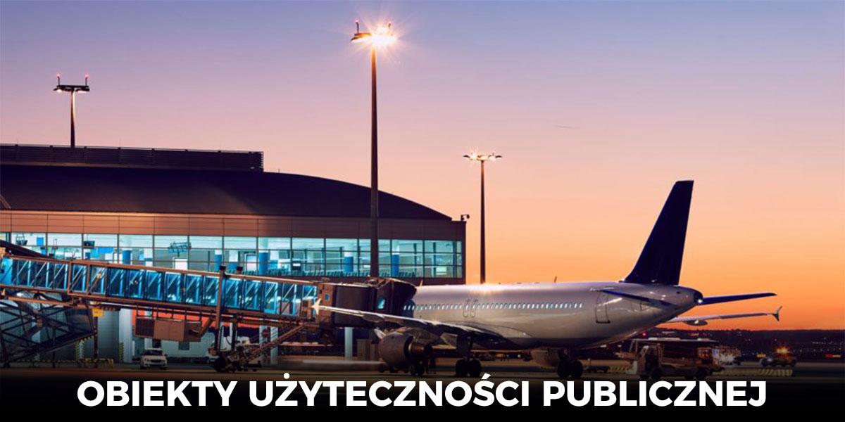 oświetlenie LED ulic, lotnisk, parkingów