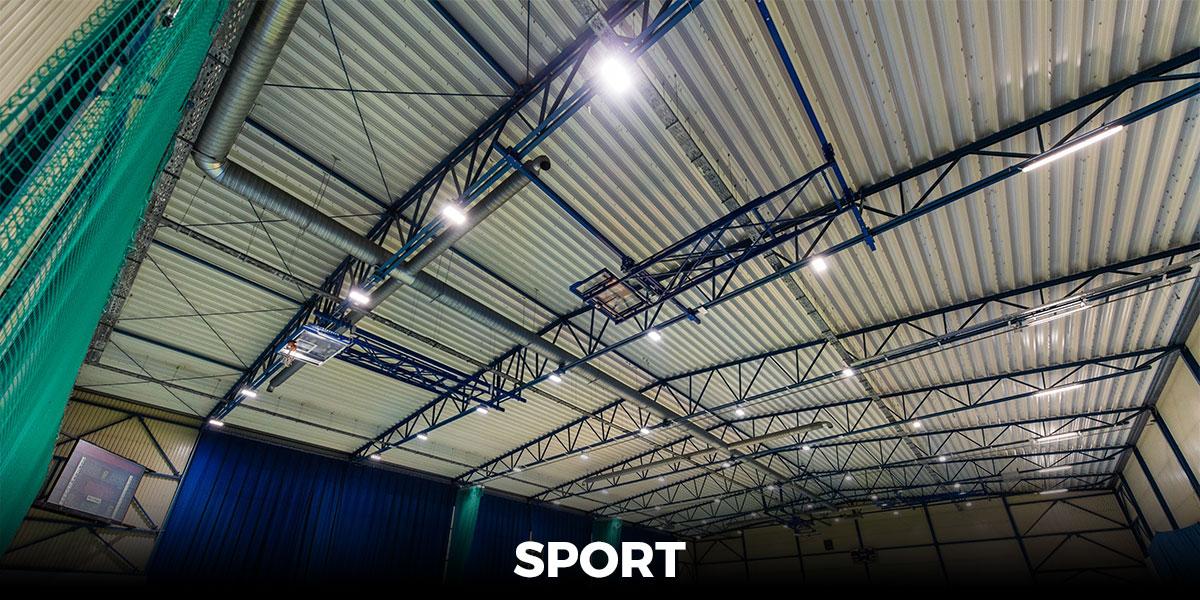 oświetlenie boiska, oświetlenie LED kortu tenisowego, lampy na stadiony